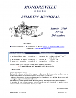 Bulletin N°20-1ere partie