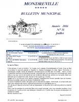 Bulletin N°31