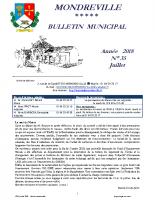 Bulletin N°35