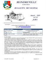Bulletin N°37