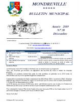 Bulletin N°38